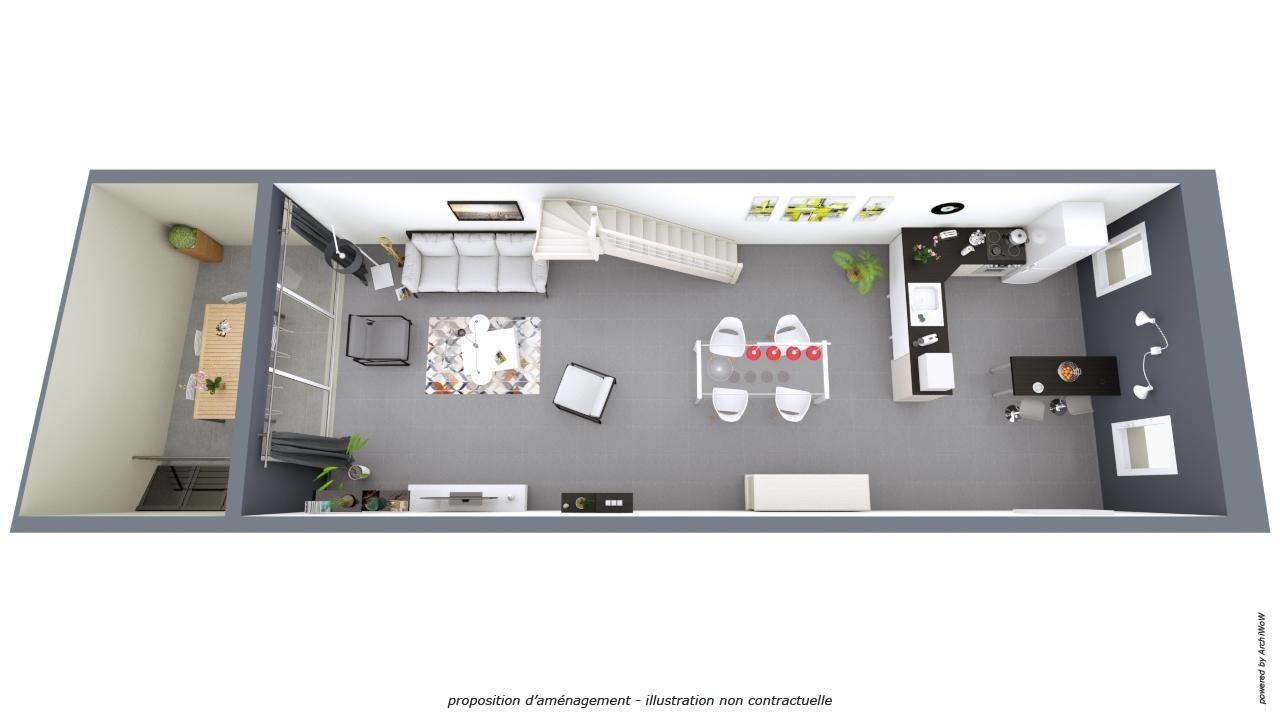 Vente maison loft avec grand garage 225 m2 habitables for Grand garage biterrois